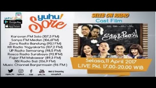 "Video YUHUSORE | SELASA 11 APRIL 2017 BERENG PEMAIN FILM ""STIP & PENCIL"" download MP3, 3GP, MP4, WEBM, AVI, FLV September 2017"