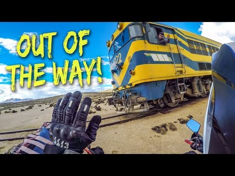 Would You Ride the Most Dangerous Train Track in South America?