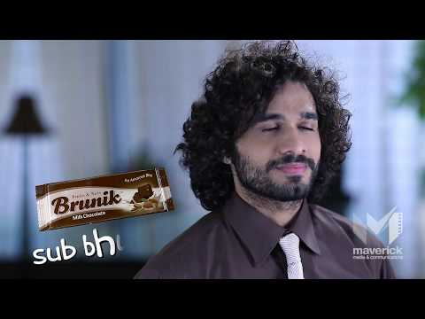 Brunik Chocolate Ad Campaign