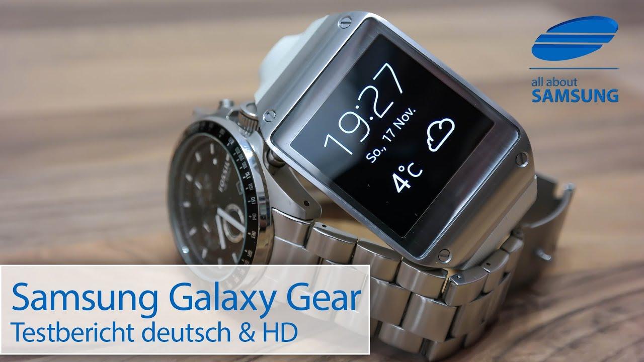 Samsung Galaxy Gear Smartwatch SM-V700 Review Test deutsch ...