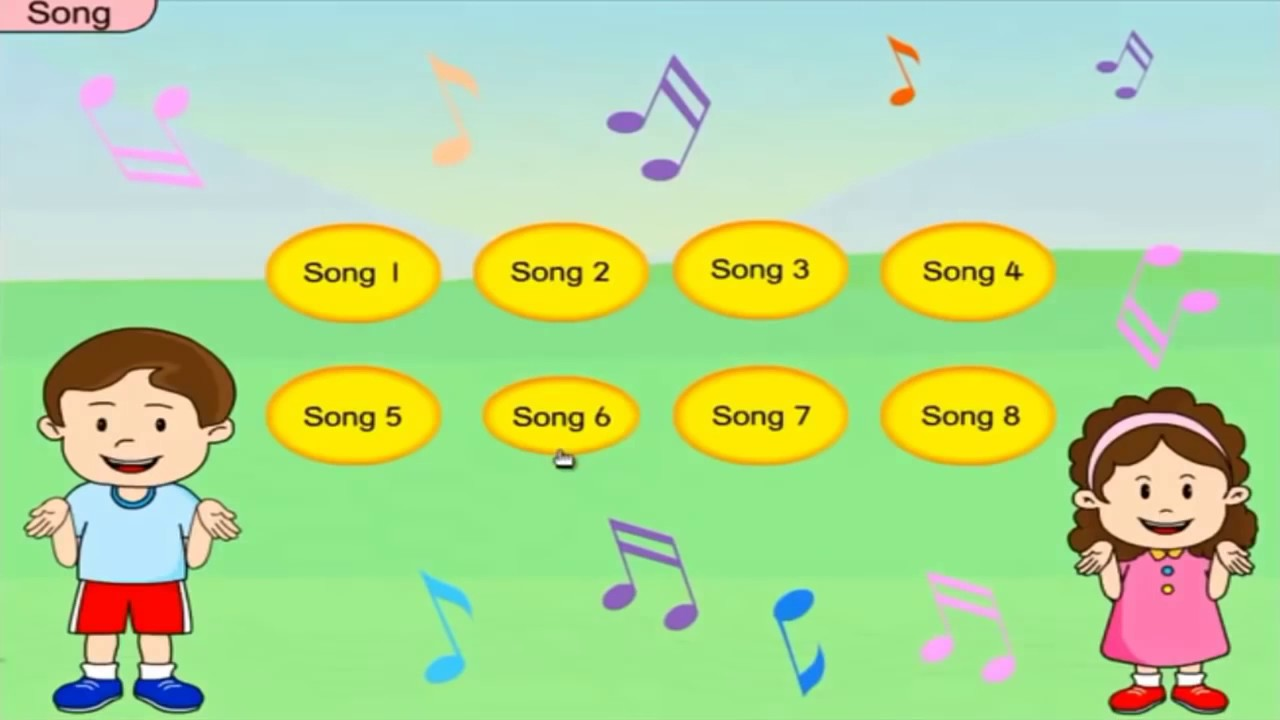 8 simple english songs for kids