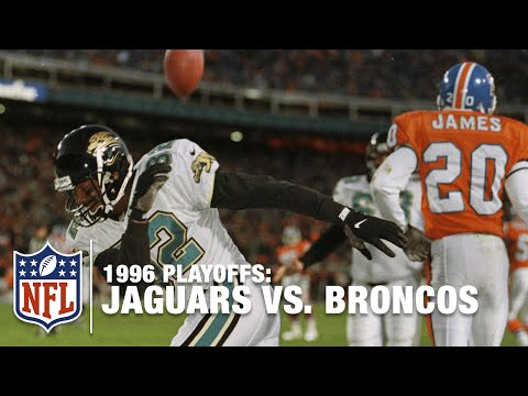 #6: Jaguars Upset Broncos in 1996 Divisional Round | Top 10 Upsets of All Time | NFL Films