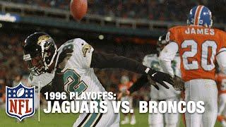 #6: Jaguars Upset Broncos in 1996 Divisional Round | NFL Films | Top 10 Upsets