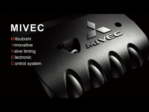 Фото к видео: MITSUBISHI The Mechanism of the New MIVEC