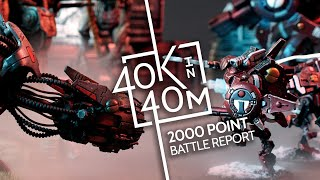 Warhammer 40k, Tau vs Chaos 2000 Point Battle Report, S02E03