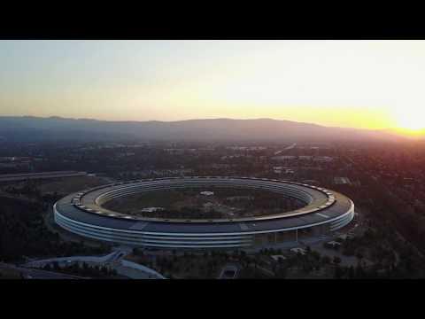 Apple Park Cupertino -  Apple's Spaceship Campus HQ - 4k | Vlog #22