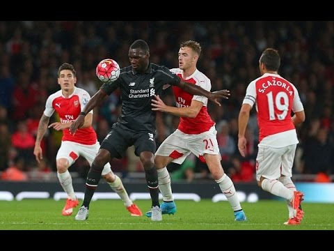 Christian Benteke vs Arsenal