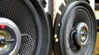test KENWOOD Speaker unit KFC-U1690 16cm (Bass I Love You)