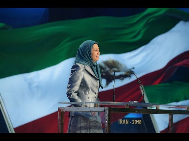 Maryam Rajavi at the International Conference of Iranian Communities- December 15, 2018