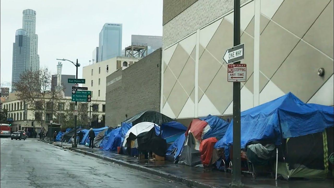 Skid Row, Downtown Los Angeles - Homeless Problem in ...