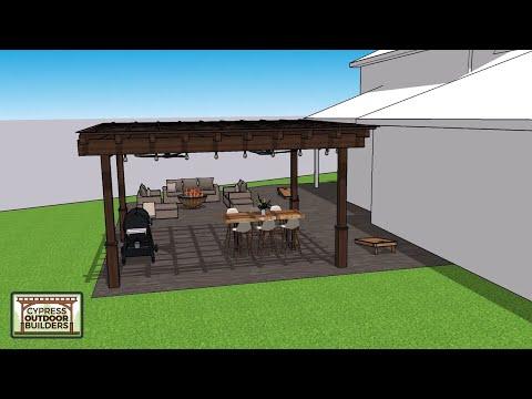 hqdefault - Large Concrete and Pergola Backyard - Concrete Floor Pros