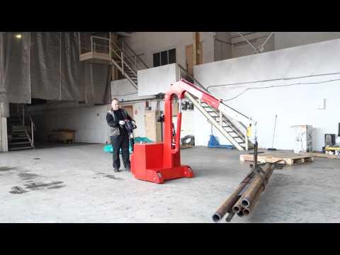 Кран гидравлический самоходный с противовесом (электрогидравлический)  ИНД ПР (Э) 350