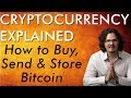 How to Buy, Send, & Store Bitcoin Tutorial + Get FREE Crypto - Cryptocurrency Explained Free Course
