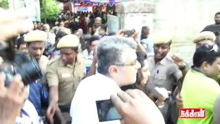 Actor Ajithkumar Voting with Shalini in Mass Crowd