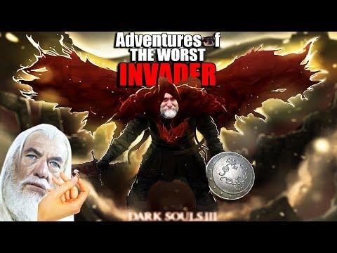 Dark Souls 3 PvP - Adventures Of The Worst Cosplay Invader - Get Gael'd, Man!