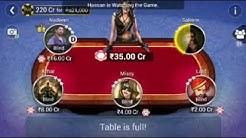 Nadeem Mushtaq Gajana No.1 Teen Patti Player
