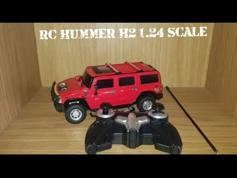 RC HUMMER H2 1.24 SCALE REVIEW
