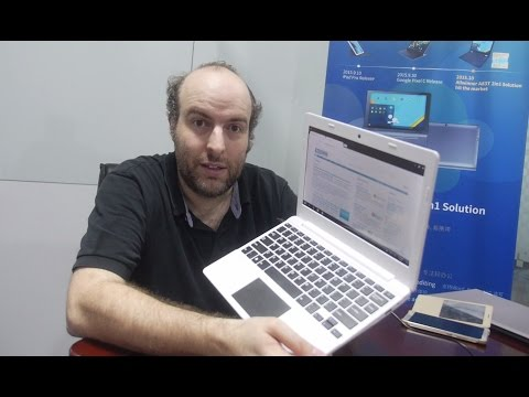 Chinese company showcases $79 Remix OS laptop