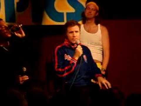 Will Ferrell Love Me Sexy Live Semi-Pro