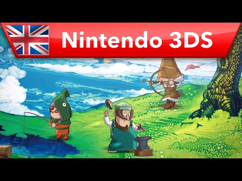Fantasy Life - Overview Trailer (Nintendo 3DS)