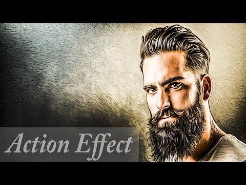 как сделать эффект арт на фото