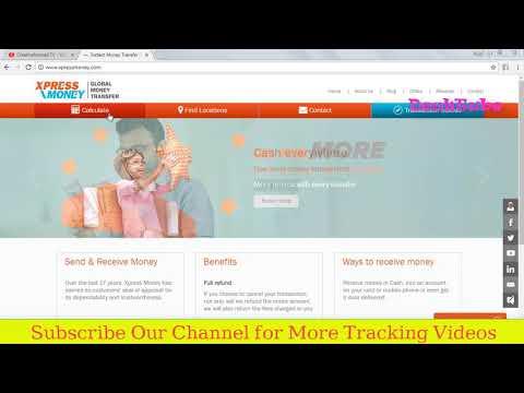 International Money transfer tracking | Xpress Money Tracking