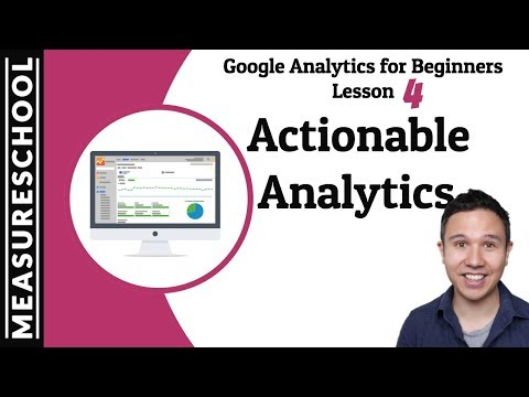 How to create Change with Google Analytics | Lesson 4