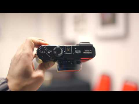Fujifilm X100F Unboxing (The mini X-Pro2?)
