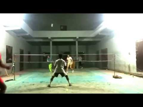 Mehmood-Adnan Vs Shahryar-Tipu Men's Double 2015 Nazimabad Gym Karachi, Pakistan