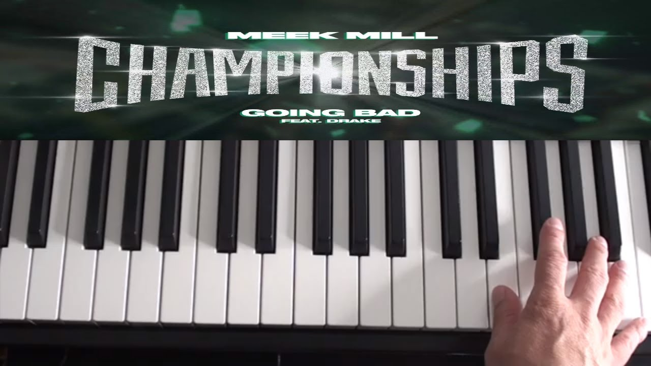 How To Play Going Bad - Meek Mill, Drake - Piano Tutorial image
