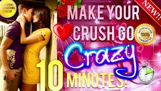 🎧 MAKE YOUR CRUSH GO CRAZY OVER YOU IN 10 MINUTES! - SUBLIMINAL AFFIRMATIONS BOOSTER! RESULTS FAST!