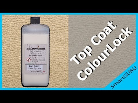 Лак для кожи ColourLock Top Coat Gloss Mutt