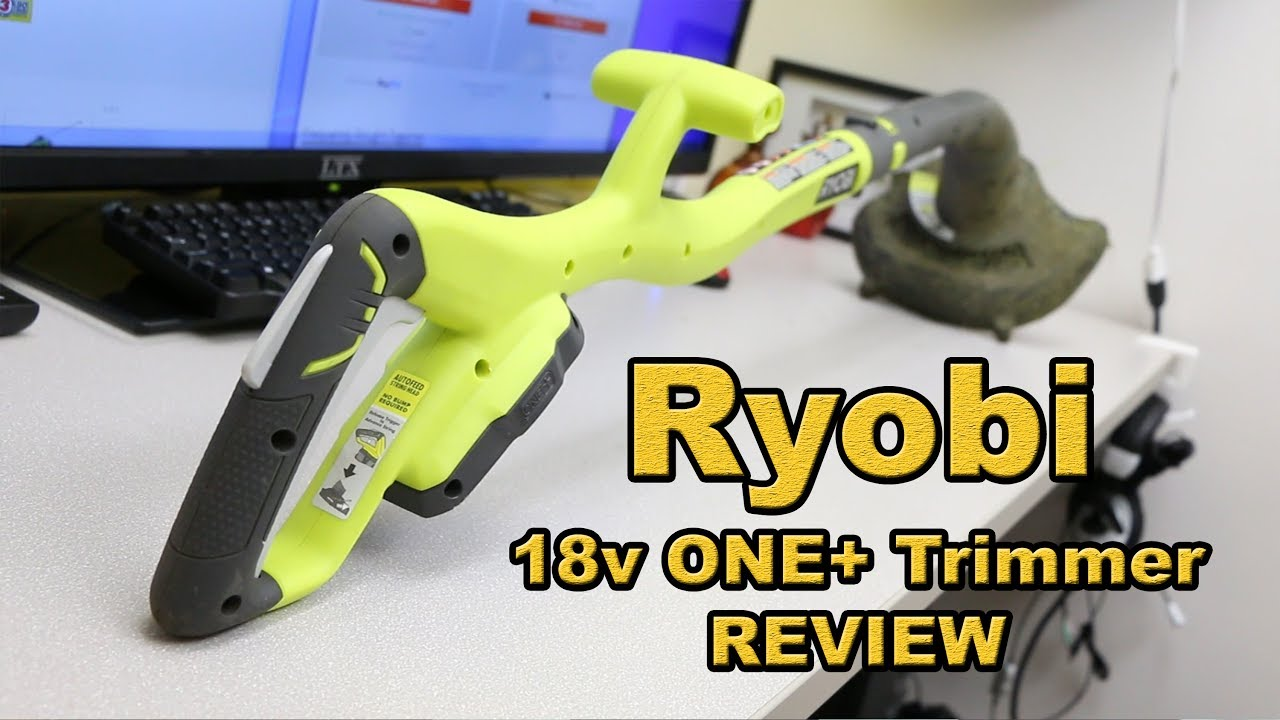 Ryobi ONE+ 18v trimmer REVIEW, great buy