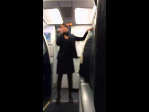 Spirit Airlines Hilarious Flight Attendent