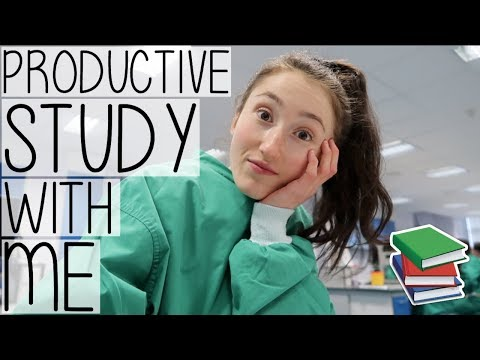 STUDY WITH ME AT UNIVERSITY #003 VLOG STYLE | HOW TO BE PRODUCTIVE EVERY SINGLE DAY