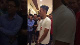 Lần đầu làm MC - Chung kết super league tại Hải Phòng