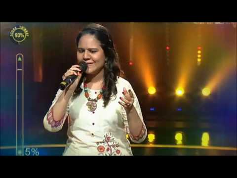 Sayani Palit at Colors Tv Rising Star Performance 2