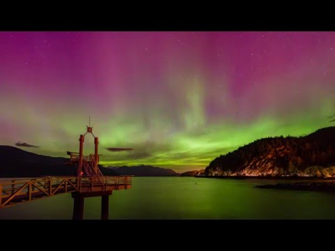 2016-05-07 Aurora in Vancouver, BC, Canada