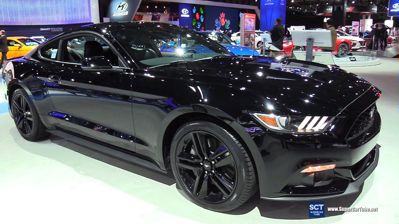 2017 Ford Mustang Premium Coupe Exterior And Interior Walkaround New York Auto Show