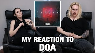 Metal Drummer Reacts: DOA by I Prevail