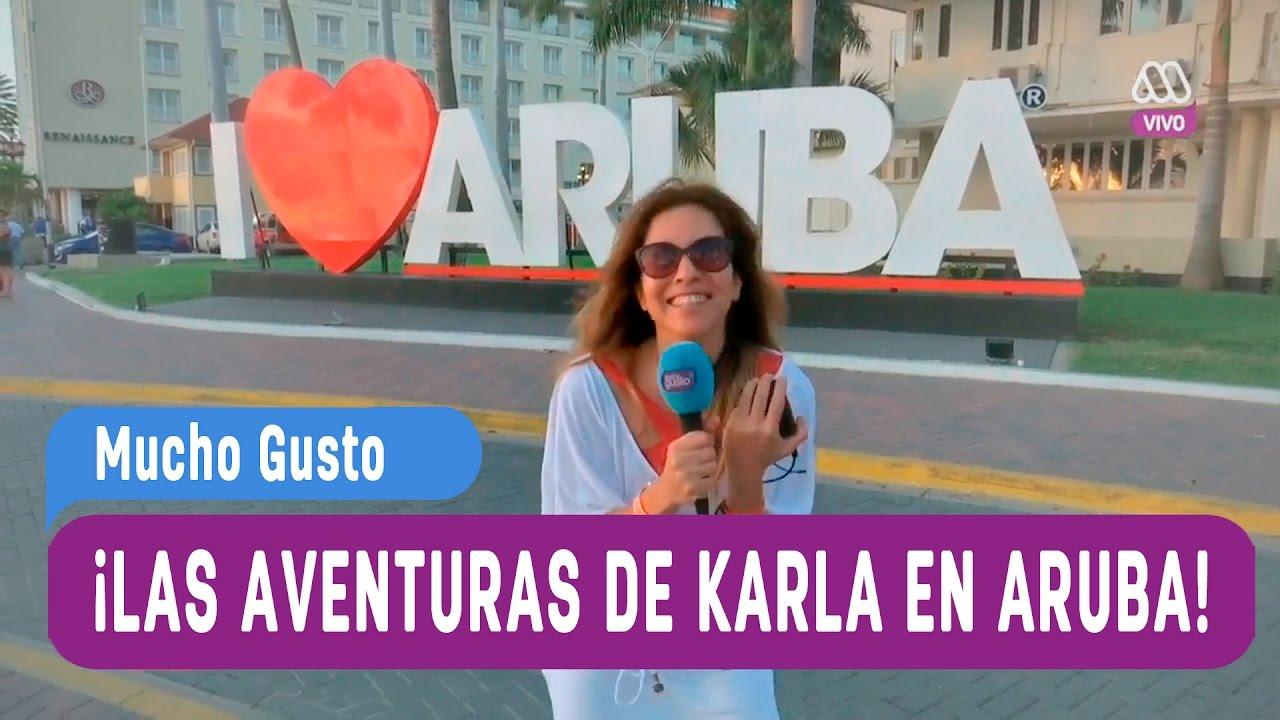 Las aventuras de Karla Constant en Aruba - Mucho Gusto ...