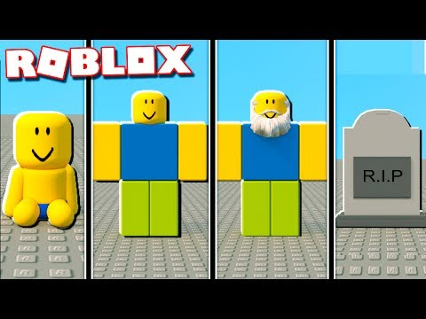 IF Roblox had a REALISTIC Life span (Be Born a Baby and Die Old)