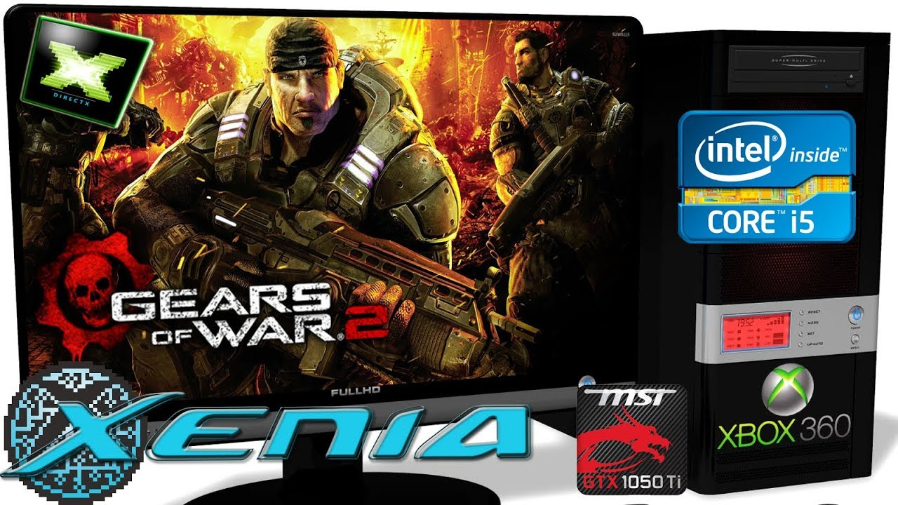 XENIA [Xbox 360 Emulator] - Gears of War 2 [Gameplay] Xenia-Custom 1 11b #3