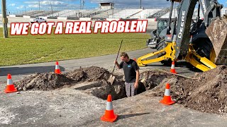 Renovating an Abandoned Racetrack Part 4 - Florida Sinkhole ATTACKS the Freedom Factory...