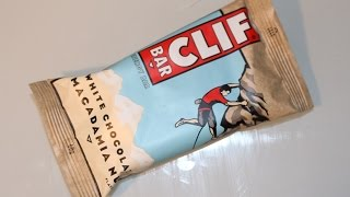 Clif Bar Original Energybar Macadamia Nut - Htll#108 Unboxing Reviiew Tasting