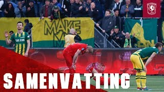 Samenvatting ADO Den Haag - FC Twente 14-04-2018