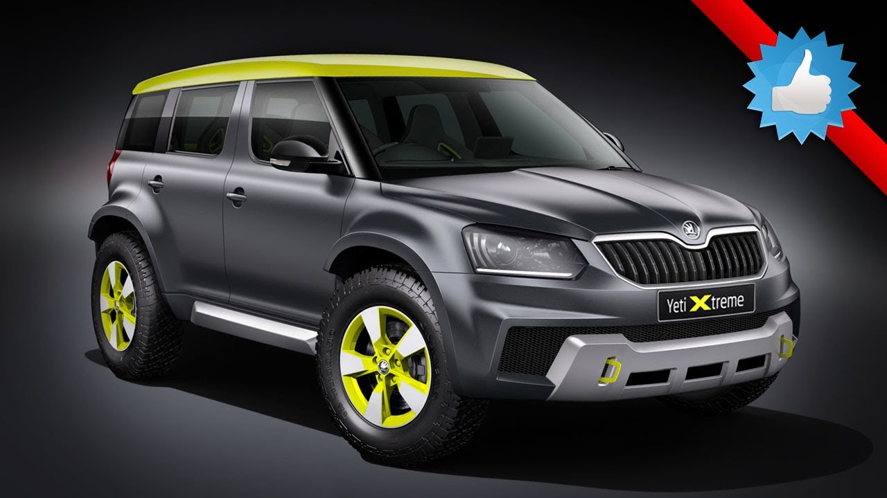 Skoda Yeti Xtreme Concept Rally Inspired Suv Youtube