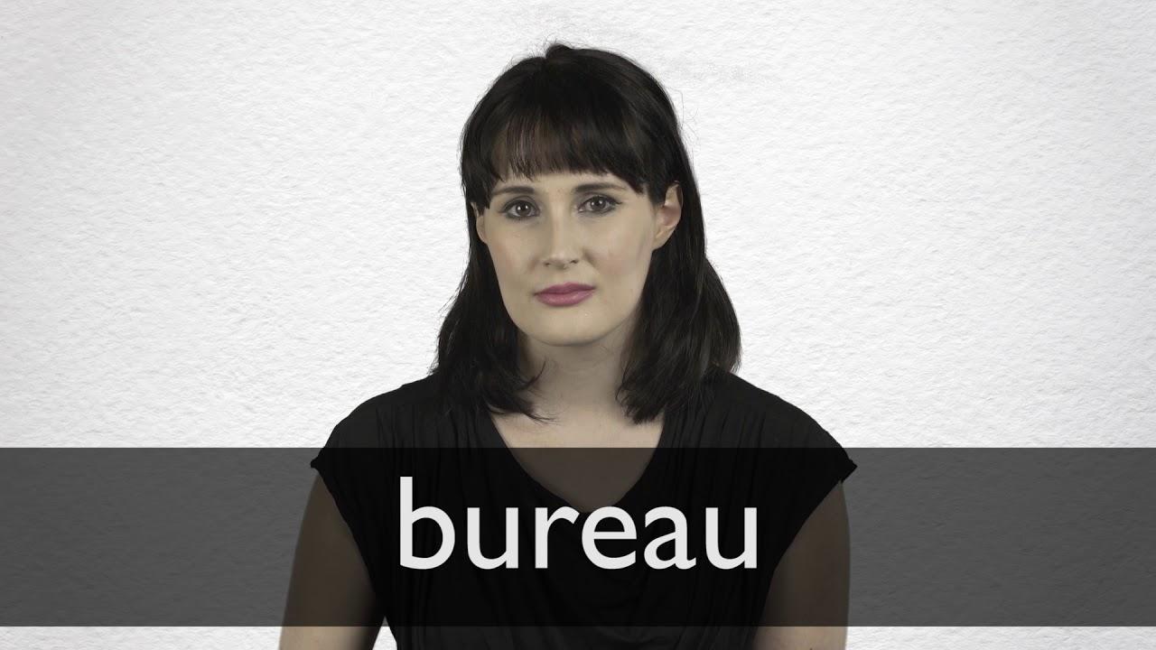 How to pronounce BUREAU in British English