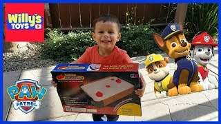 Mini Tabletop Air Hockey Table and Surprise Toy - Paw Patrol Jigsaw Puzzle - Willy
