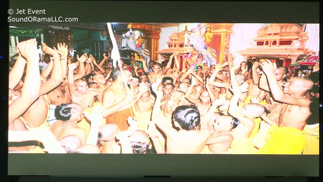 A small video presentation of HH Chinna Jeeyar Swamiji Shashti Poorthi